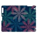 Spring Flower Red Grey Green Blue Apple iPad 3/4 Hardshell Case View1