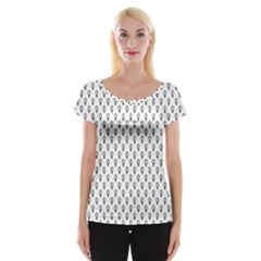 Woman Plus Sign Women s Cap Sleeve Top