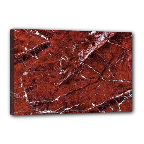 Texture Stone Red Canvas 18  x 12