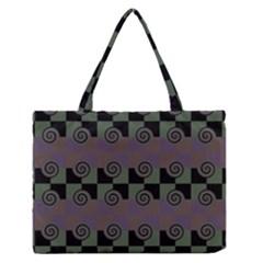 Deco Medium Zipper Tote Bag