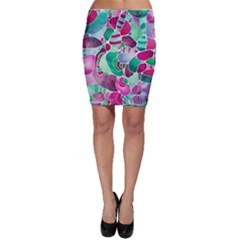 Frosted Sea Glass Bodycon Skirt