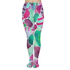Frosted Sea Glass Women s Tights