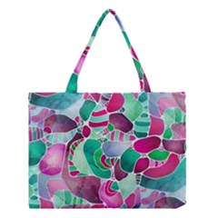 Frosted Sea Glass Medium Tote Bag