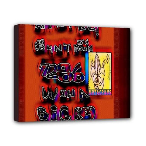 BIG RED SUN WALIN 72 Canvas 10  x 8
