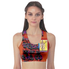 BIG RED SUN WALIN 72 Sports Bra