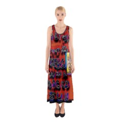 BIG RED SUN WALIN 72 Sleeveless Maxi Dress