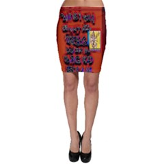BIG RED SUN WALIN 72 Bodycon Skirt