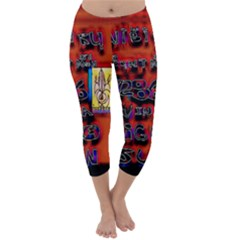 BIG RED SUN WALIN 72 Capri Winter Leggings