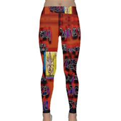 BIG RED SUN WALIN 72 Classic Yoga Leggings