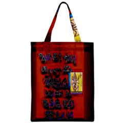 BIG RED SUN WALIN 72 Zipper Classic Tote Bag