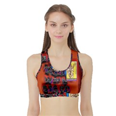 BIG RED SUN WALIN 72 Sports Bra with Border