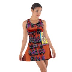 BIG RED SUN WALIN 72 Cotton Racerback Dress