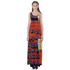 BIG RED SUN WALIN 72 Empire Waist Maxi Dress