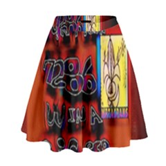 BIG RED SUN WALIN 72 High Waist Skirt