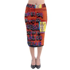 BIG RED SUN WALIN 72 Midi Pencil Skirt