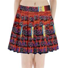 BIG RED SUN WALIN 72 Pleated Mini Skirt