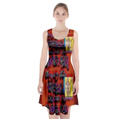 BIG RED SUN WALIN 72 Racerback Midi Dress