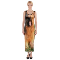Full Briard Fitted Maxi Dress
