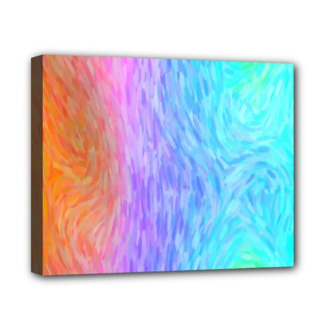 Abstract Color Pattern Textures Colouring Canvas 10  X 8
