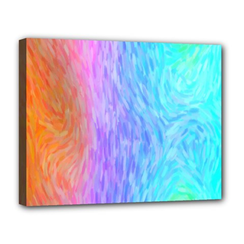 Abstract Color Pattern Textures Colouring Canvas 14  x 11