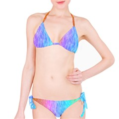Abstract Color Pattern Textures Colouring Bikini Set