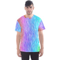 Abstract Color Pattern Textures Colouring Men s Sport Mesh Tee