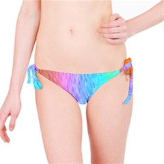 Abstract Color Pattern Textures Colouring Bikini Bottom