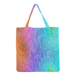 Abstract Color Pattern Textures Colouring Grocery Tote Bag