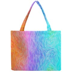Abstract Color Pattern Textures Colouring Mini Tote Bag