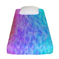 Abstract Color Pattern Textures Colouring Fitted Sheet (single Size)