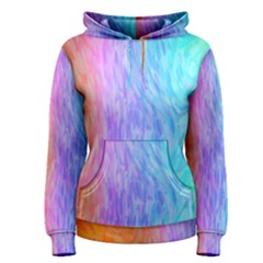 Abstract Color Pattern Textures Colouring Women s Pullover Hoodie