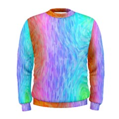 Abstract Color Pattern Textures Colouring Men s Sweatshirt