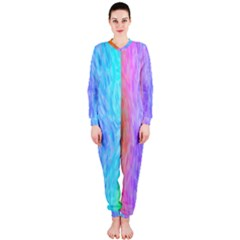 Abstract Color Pattern Textures Colouring Onepiece Jumpsuit (ladies)
