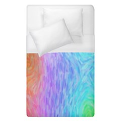 Abstract Color Pattern Textures Colouring Duvet Cover (single Size)