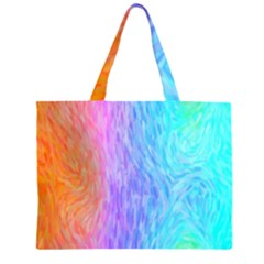 Abstract Color Pattern Textures Colouring Large Tote Bag