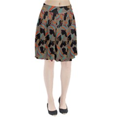 African Women Ethnic Pattern Pleated Skirt