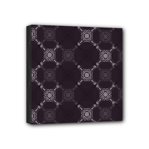 Abstract Seamless Pattern Mini Canvas 4  X 4