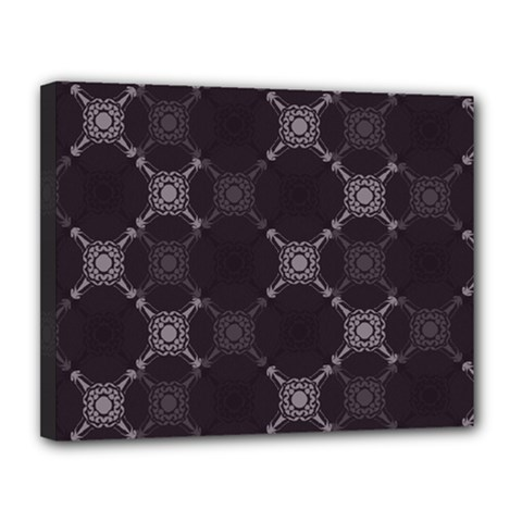 Abstract Seamless Pattern Canvas 14  X 11