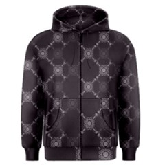 Abstract Seamless Pattern Men s Zipper Hoodie