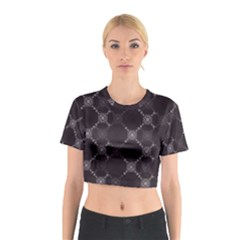 Abstract Seamless Pattern Cotton Crop Top