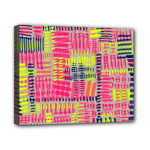 Abstract Pattern Canvas 10  X 8