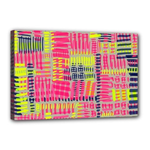 Abstract Pattern Canvas 18  x 12