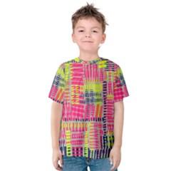Abstract Pattern Kids  Cotton Tee