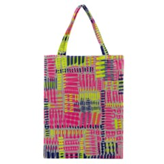 Abstract Pattern Classic Tote Bag