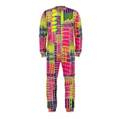 Abstract Pattern OnePiece Jumpsuit (Kids)
