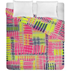 Abstract Pattern Duvet Cover Double Side (california King Size)