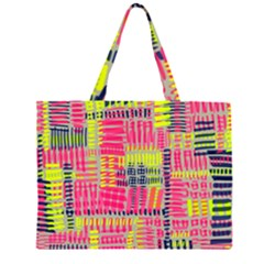 Abstract Pattern Large Tote Bag