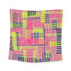 Abstract Pattern Square Tapestry (small)