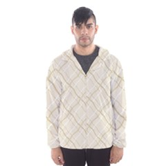 Background Pattern Hooded Wind Breaker (men)