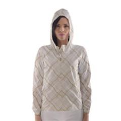 Background Pattern Hooded Wind Breaker (Women)